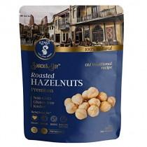 AZNUT Roasted Hazelnuts Natural Non-GMO, Premium Quality, Gluten-free, Kosher (8 oz) Resealable Bag Snack&Joy sweet crunchy taste, Healthy Snack (8 oz)