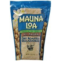 Mauna Loa Macadamias, Dry Roasted with Sea Salt, 11-oz.