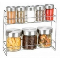 Glass Canister spice jar
